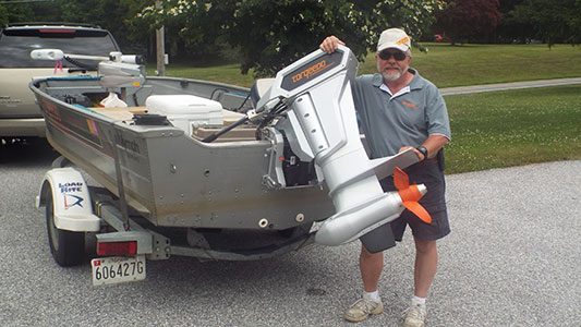 Becks Electric Outboards Torqeedo Live Bait Maryland